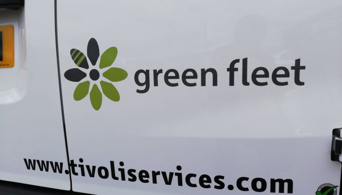 Tivoli's new eNV200 electric vehicle in Walthamstow - green fleet